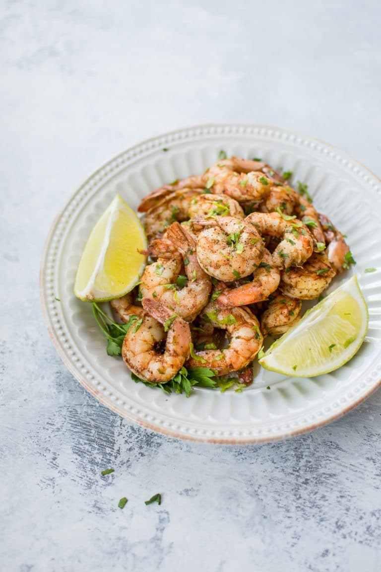 Baked Chili Lime Shrimp — Salt &Lavender