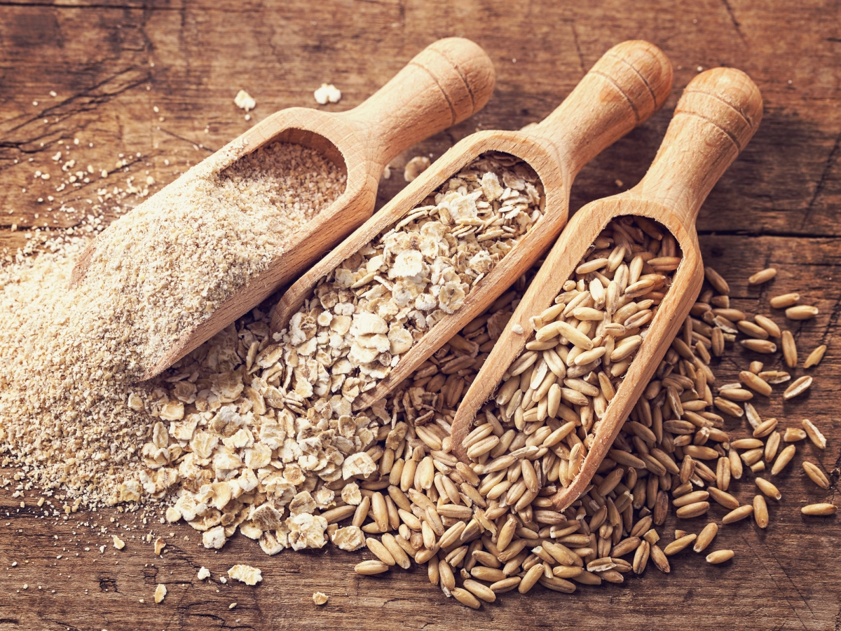 Remove wheat and gluten; Add more grains to yourdiet