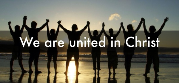 w are united by His power