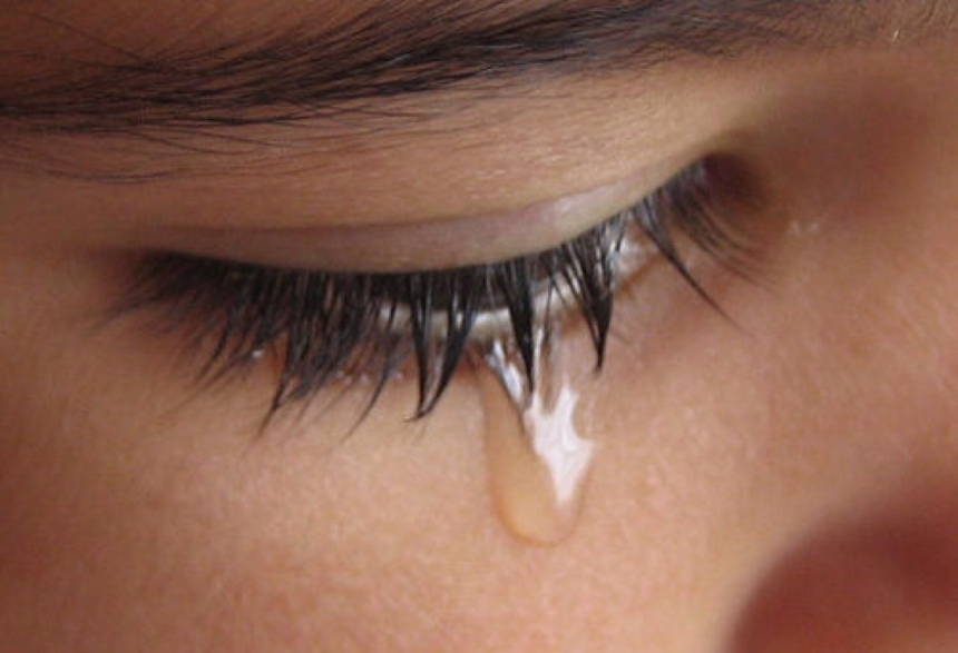 tears are like cleansing power