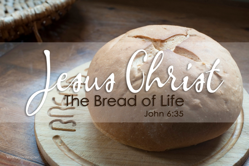 Jesus the bread of life has come that we might have life more abundantly, if we only eat of this bread and drink of this cup