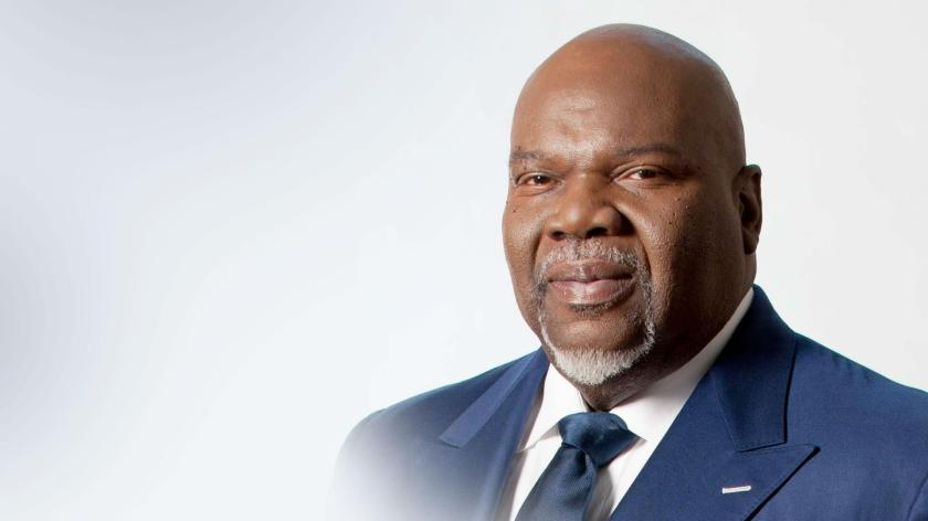 TD Jakes give a inspirational message that is unbelievable.