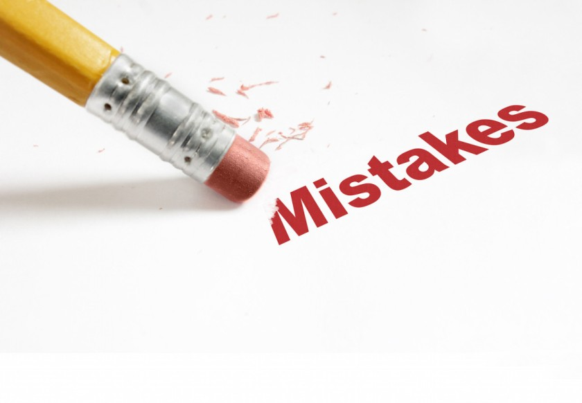 We all make mistakes, but the goal is to do better afterwards, to learn from our mistakes