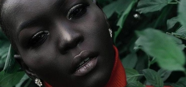 Model Nyakim is beating the odds and doing inspite of her darker skin color, even though she was told to bleach her skin