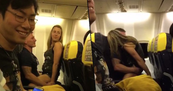 sex on the plane, what is our world coming to?