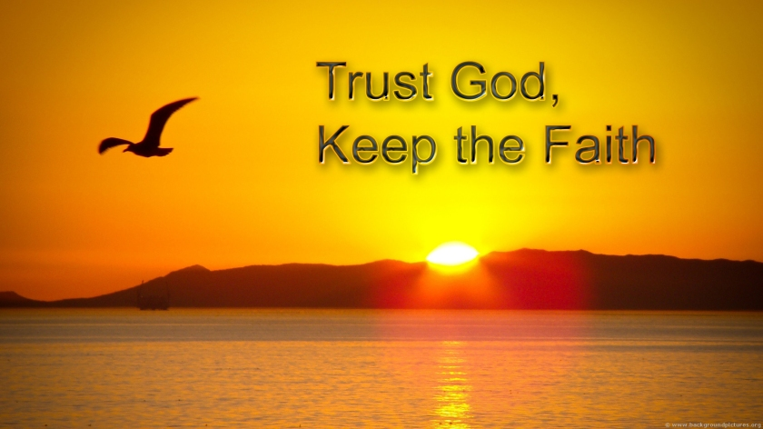 Trust God for all His mighty works, and His excellence