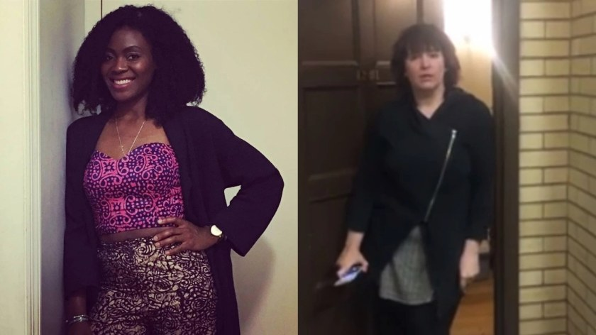 A white student calls police on black student at Yale University , said she was not suppose to be there