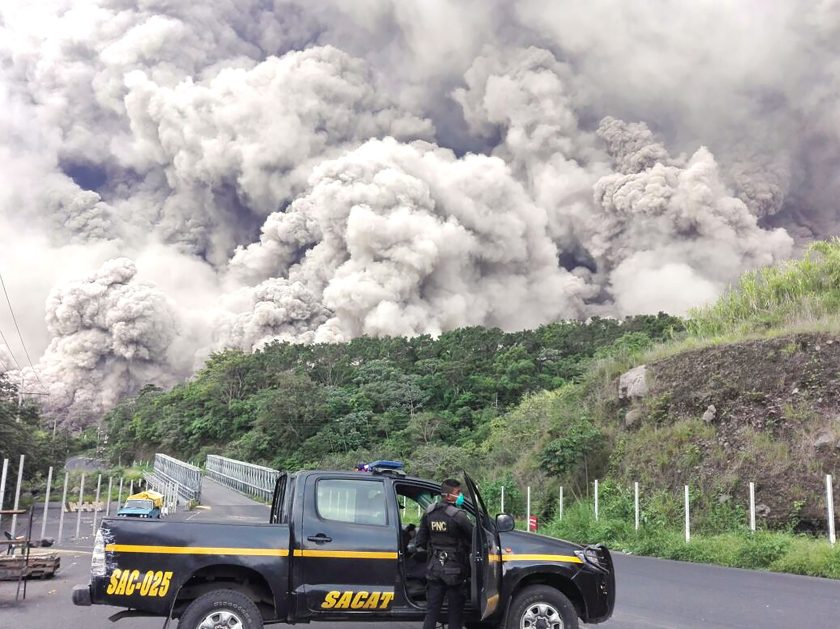 Guatemala and Hawaii volcanoes and how they differ