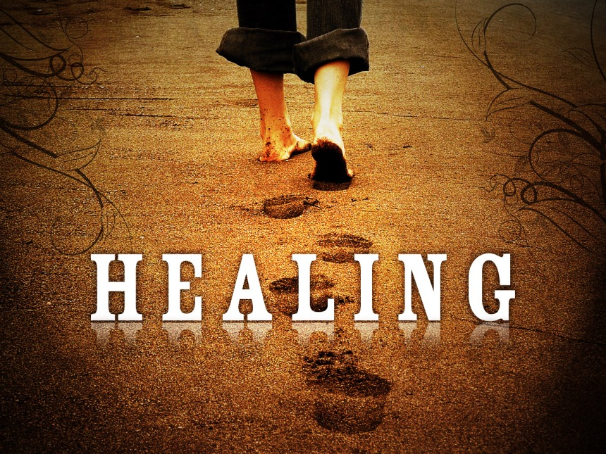 Healing, ask and believe that God will heal your body or situation