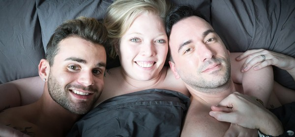 Throuples are a threesome who claims to love each other.