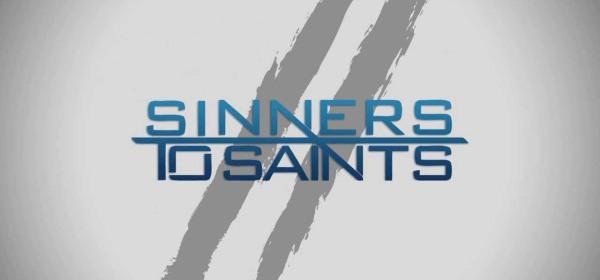 Sinner to saint, accept christ as your savior.