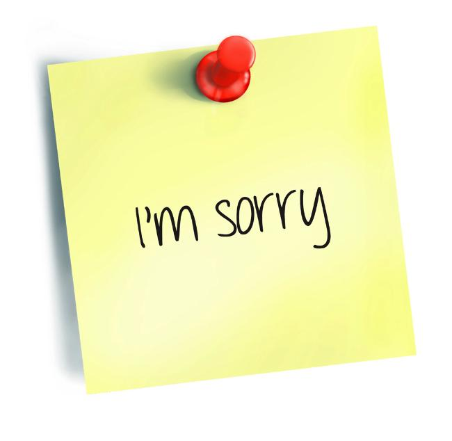 An apology is necessary when you knowingly hurt someone