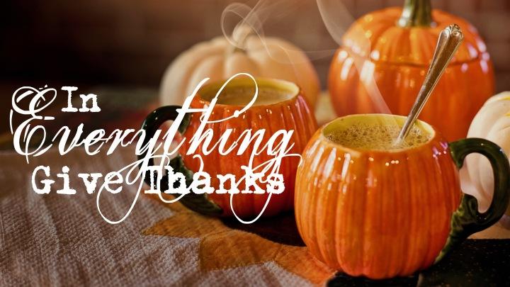 Thanksgiving Blog 2018